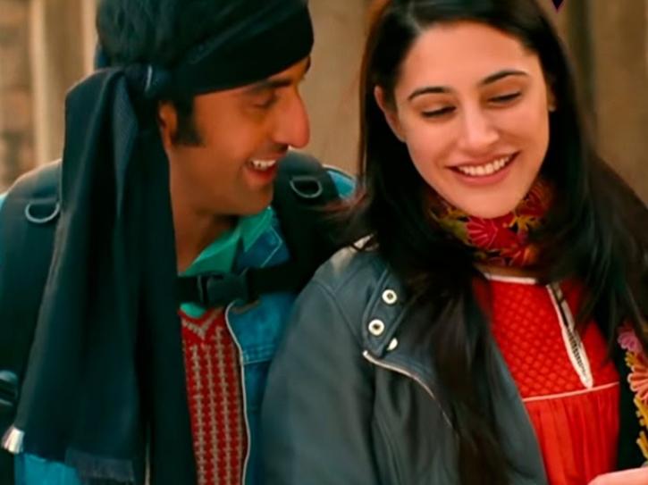 Nargis Fakhri and Ranbir Kapoor in Rockstar.