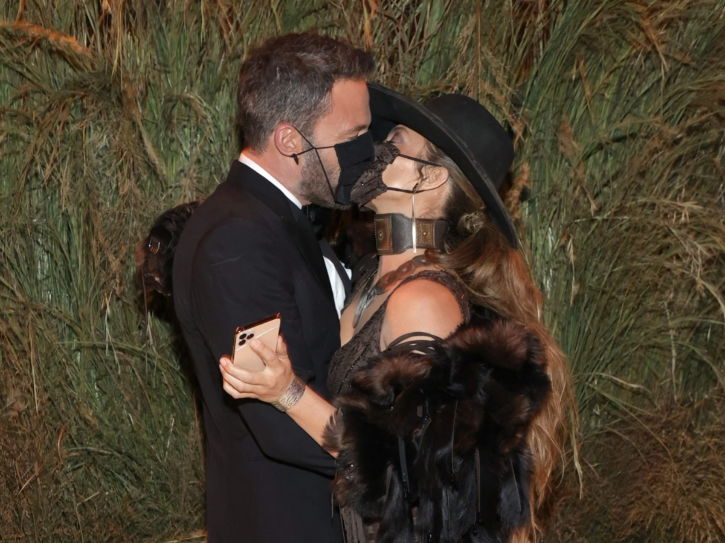 Jennifer Lopez and Ben Affleck at Met Gala