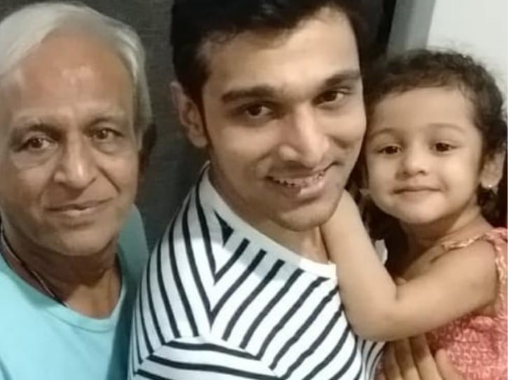 Pratik Gandhi lost his father to cancer.