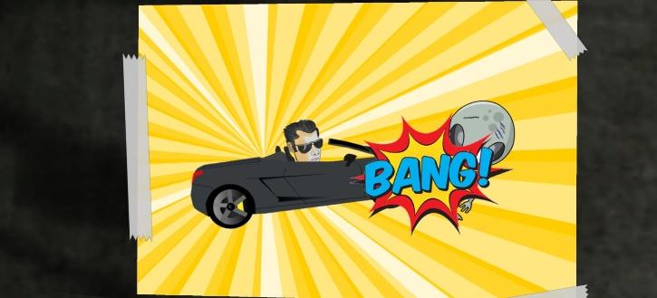 The game is allegedly based on a hit-and-run incident involving Bollywood actor Salman Khan.