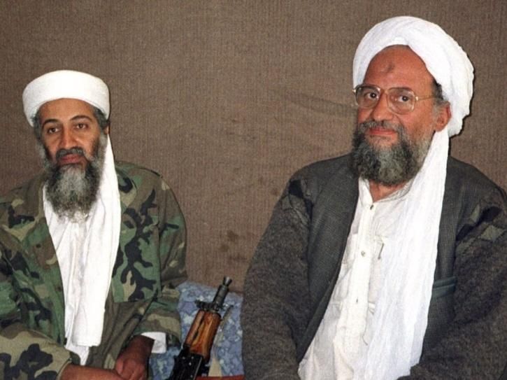 Ayman al-Zawahiri and Osama bin Laden.