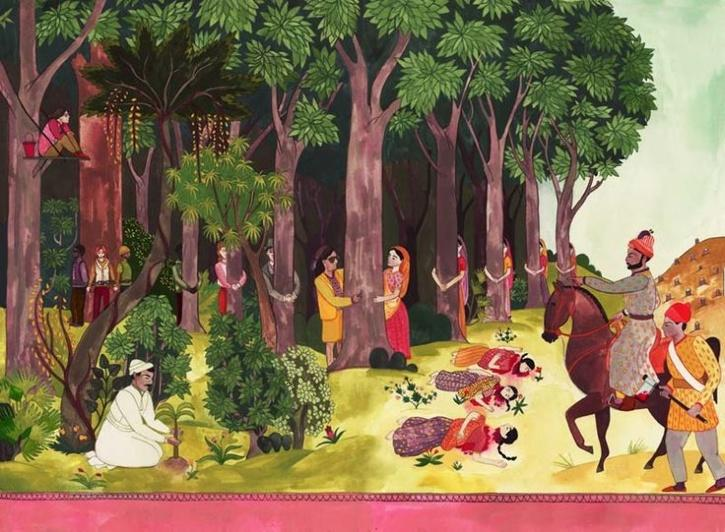history of forest martyr day