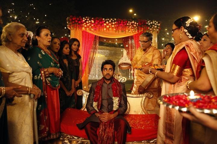 ayushmann khurrana vicky donor wedding scene