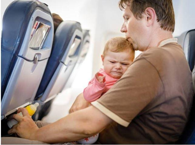 """He said that on his 13 hours journey, Japan Airlines warned him of """"babies screams and yelling"""" and thus saved his day. He said this warning system should be made mandatory across all carriers."""