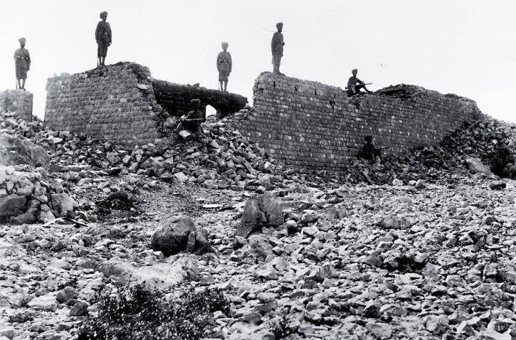 Battle Of Saragarhi   British Army