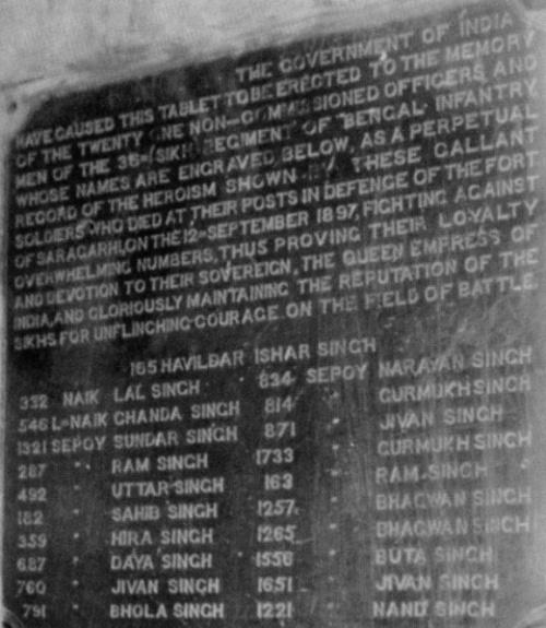 Battle of Saragarhi   sikhwiki.org