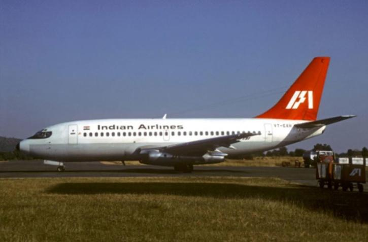 A Boeing 737-200 aircraft, the same type that was hijacked to Dubai.