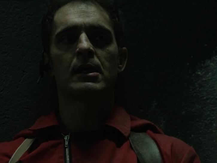 Berlin death scene in Money Heist season 2.