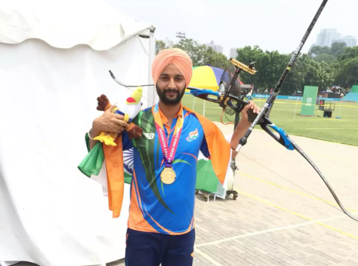 Para archer Harvinder Singh Paralympics journey