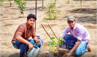 A brothers duo from Virudhunagar in Tamil Nadu has done something that is need of the hour: planted trees, and that too 5000 in numbers in just 48 hours.