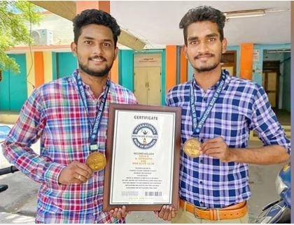 And for this valuable and innovative initiative, the brothers have been acknowledged and given an appreciation certificate from the India Book of Records for being