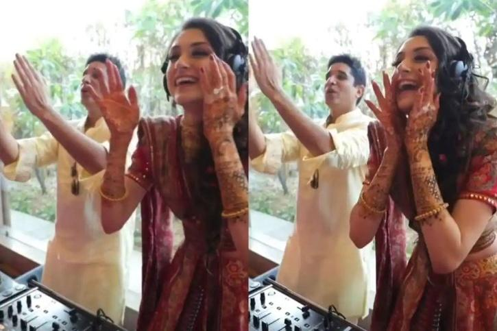 Bride-to-be takes over as DJ