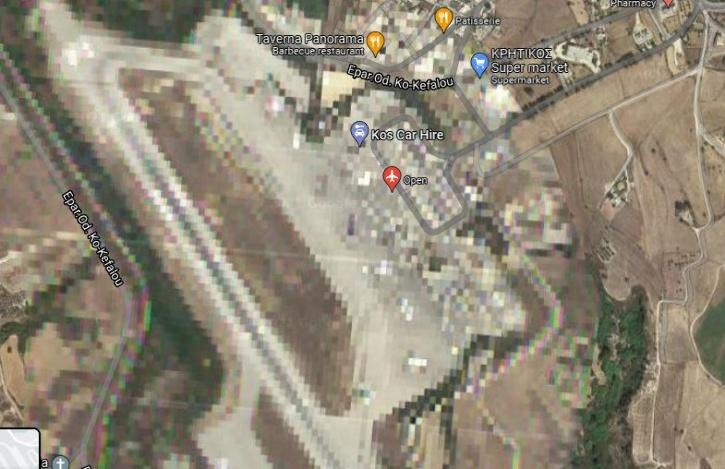 Kos International Airport - Greece