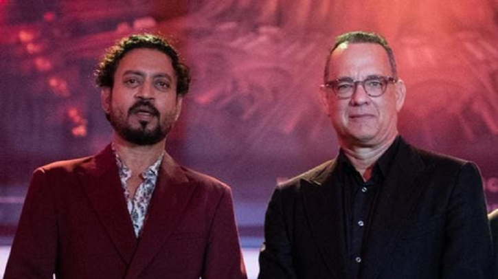 Babil Shares Pictures Of Irrfan Khan Chilling With Tom Hanks, Says F**K Have To Live Up To His Insane Legacy
