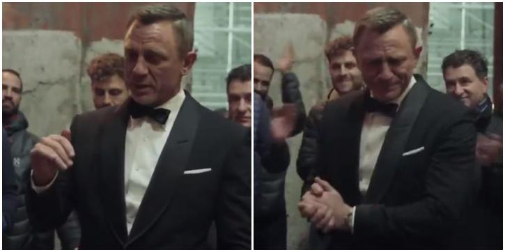 Daniel Craig Tears Up While Delivering An Emotional Farewell Speech For Crew After Wrapping 'No Time to Die'