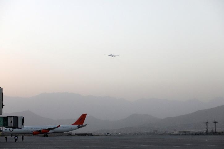 Kabul Airport flight