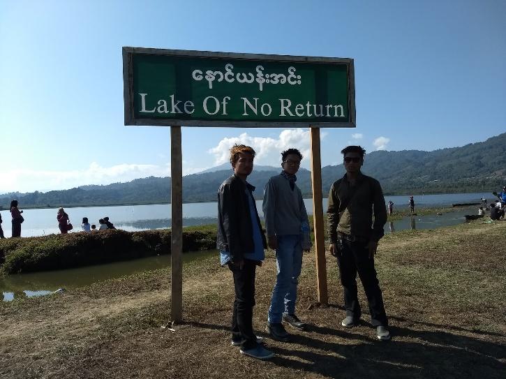 'Lake of No Return' or the Nawang Yang lake
