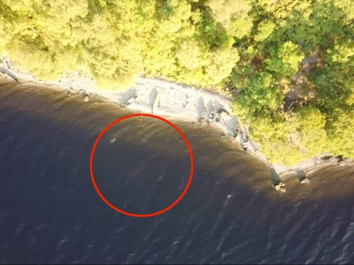 loch-ness drone image