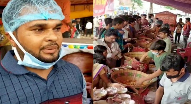 Bhopal vendor offers free panipuri after birth of daughter