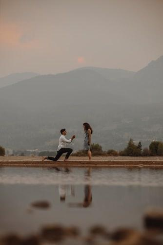 guy proposing