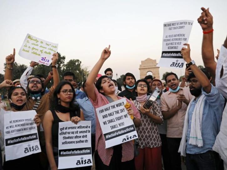 protest rape