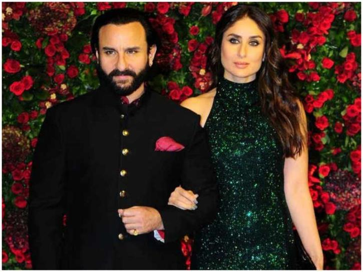 When asked how does he manage to stay away from all the negativity that has been created around him especially online. He told Bollywood Bubble that his wife Kareena Kapoor Kahn stopped him to look for himself online.