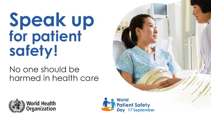 World Patient Safety Day 2021   WHO