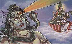 Shiva Third Eye Story