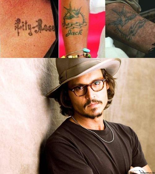 Johnny Depp Jack Tattoo