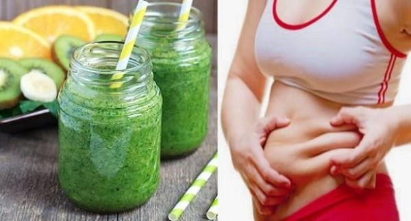 A drink to burn belly fat