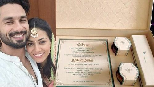 These 10 Bollywood Celebrity Wedding Invitation Cards Will Make You