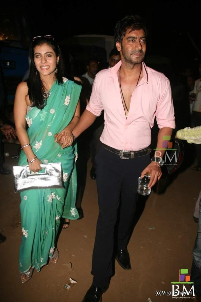 Ajay Devgan And Kajol - Indiatimescom-7163