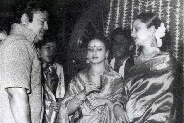 Rekha Is Actor Gemini Ganesan And Actress Pushpavalli S: Gemini Ganesan Controversial Life Photos
