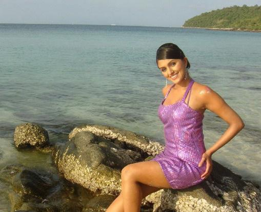Agree, this Chabaria in bikini the