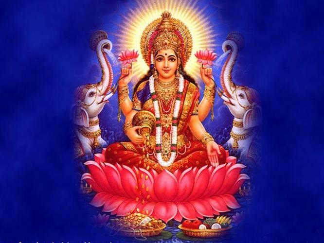 Image result for lakshmi god
