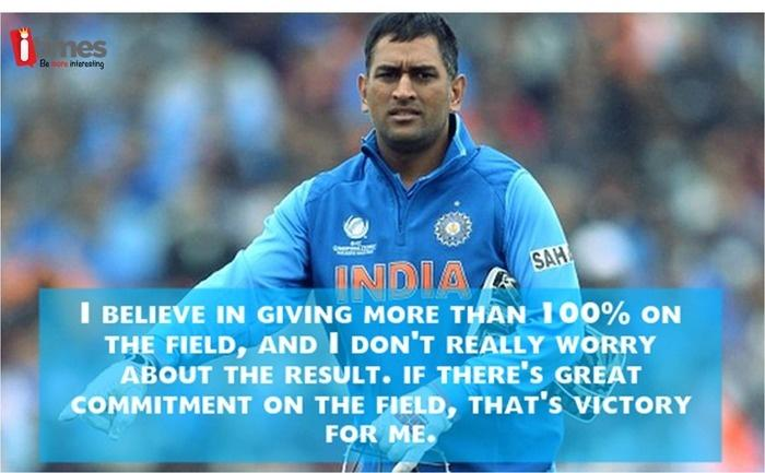 Image result for ms dhoni quote