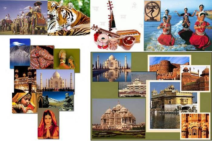 pictures of cultural heritage of india