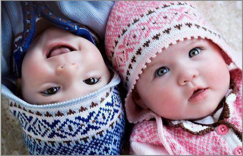Pics of cute baby boy and girl