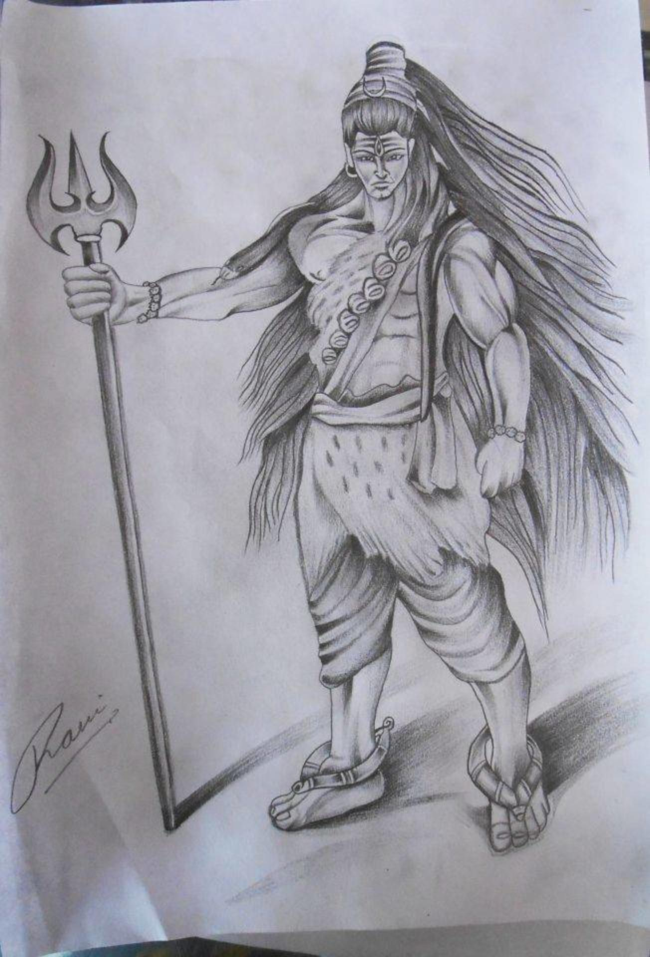Sketches Of Bhole Baba