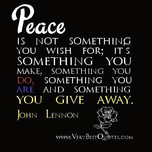Quotes About World Peace Day: Super Quotes About Peace