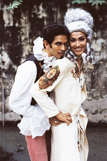 Indian Bollywood film actor and model Milind Soman and