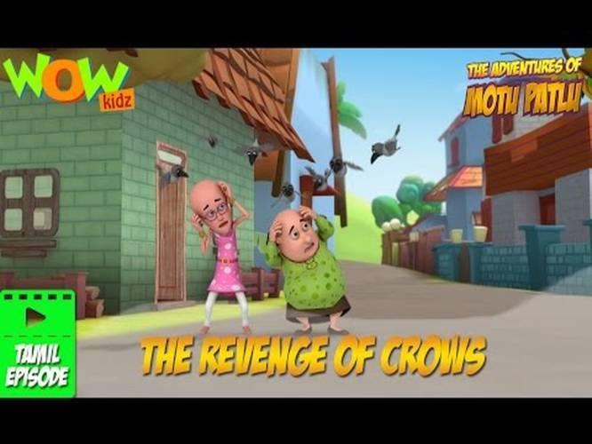 The Revenge Of Crows Motu Patlu Telugu Wow Kidz Indiatimes Com