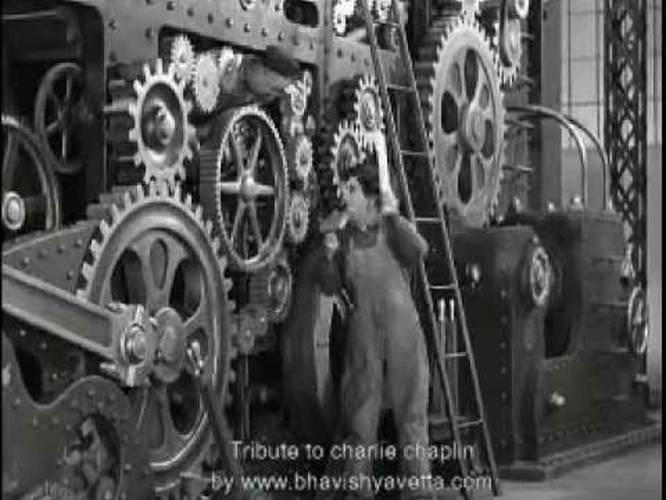 charlie chaplin modern times 1936 full movie