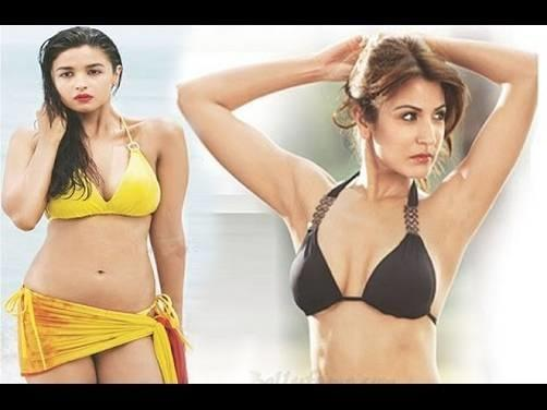 Top Sexiest And Hottest Bikni Babes Of Bollywood