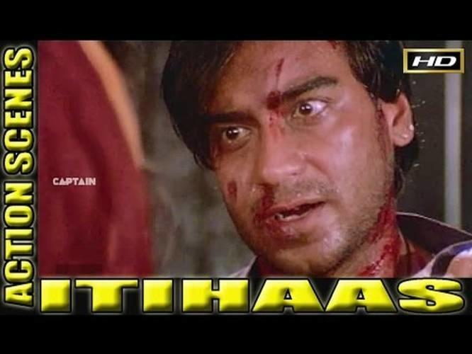 Itihaas Ajay Devgan Full Action Scenes Bollywood Hd Movie