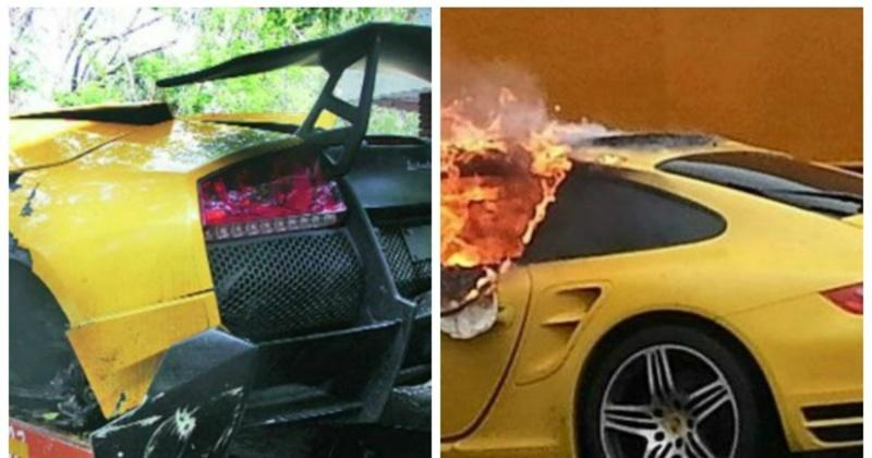 11 Supercars That Have Been Badly Treated In India