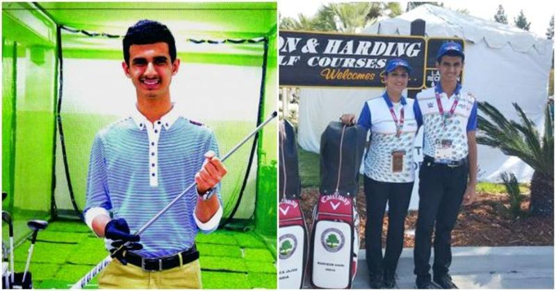 14 year old ranveer saini is autistic and now the first indian 14 year old ranveer saini is autistic and now the first indian golfer to win gold at special olympics indiatimes thecheapjerseys Gallery