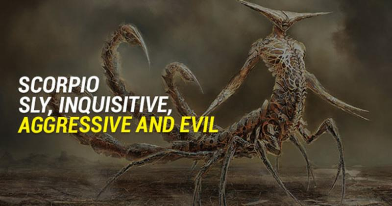 Learn These Demonic Traits Of Each Zodiac Sign And Become A