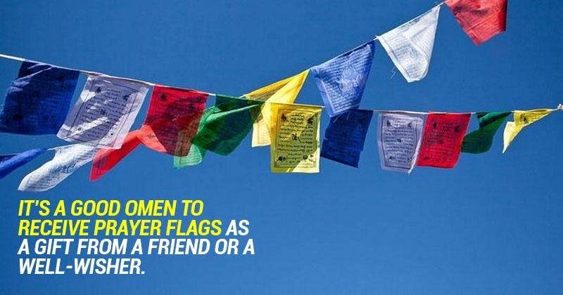 2 X Tibetan Buddhist Prayer MANTRAS FLAG OM Mani Padme HUM for Bikes and Cycle
