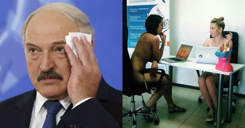 Belarusian President Asks His Country To Work Naked By